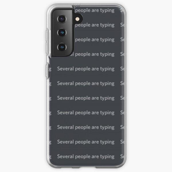 Plusieurs personnes tapent Meme Coque souple Samsung Galaxy
