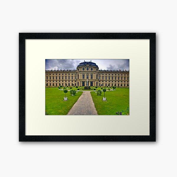 Prince Bishops Palace Back View Framed Art Print