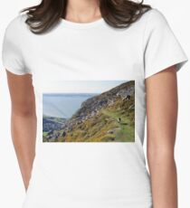 """""""I'll be coming 'round the mountain..."""" Women's Fitted T-Shirt"""