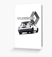 R5 Turbo2 Greeting Card