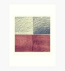 structure works - four in one Art Print