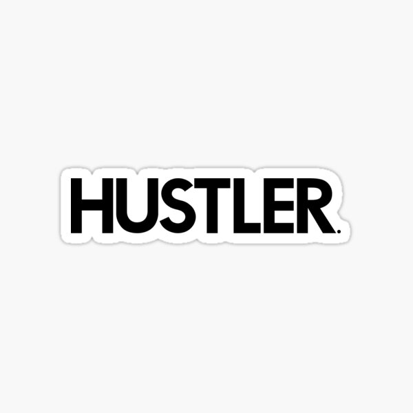 HUSTLER Billiards Pool Designer Artwork Sticker