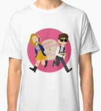 Baby and Debora - baby driver art  Classic T-Shirt