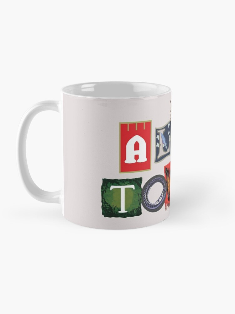 Alternate view of Alton Towers Collage Design Mug