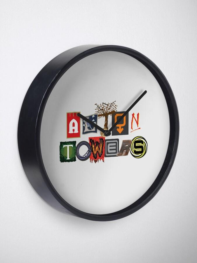 Alternate view of Alton Towers Collage Design Clock