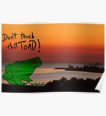 The Frog goes 2island Poster