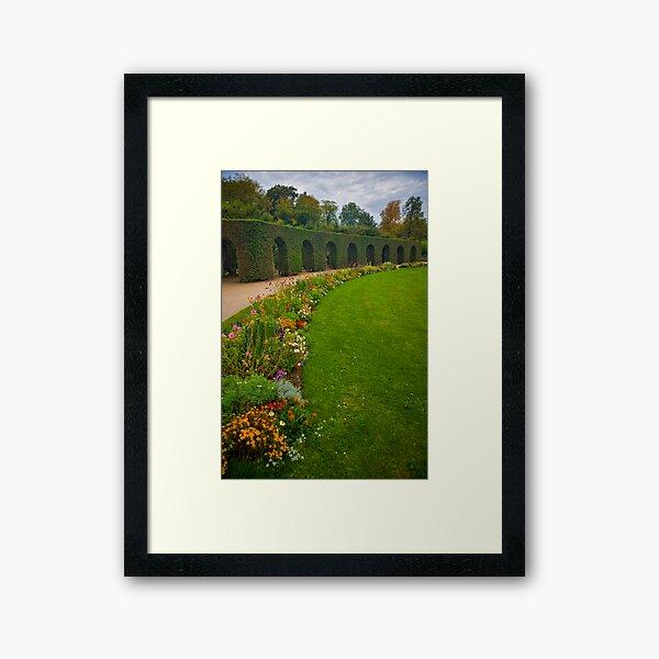 Prince Bishop Palace Gardens  Framed Art Print