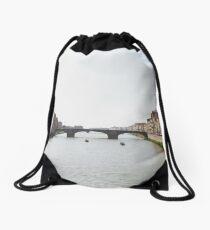 Arno River Drawstring Bag