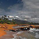 Kauai seascape by milton ginos