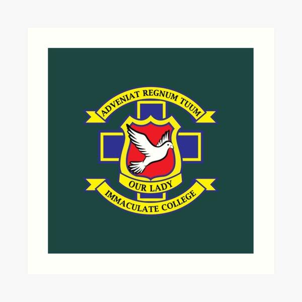 Derry Girls School Crest Art Print