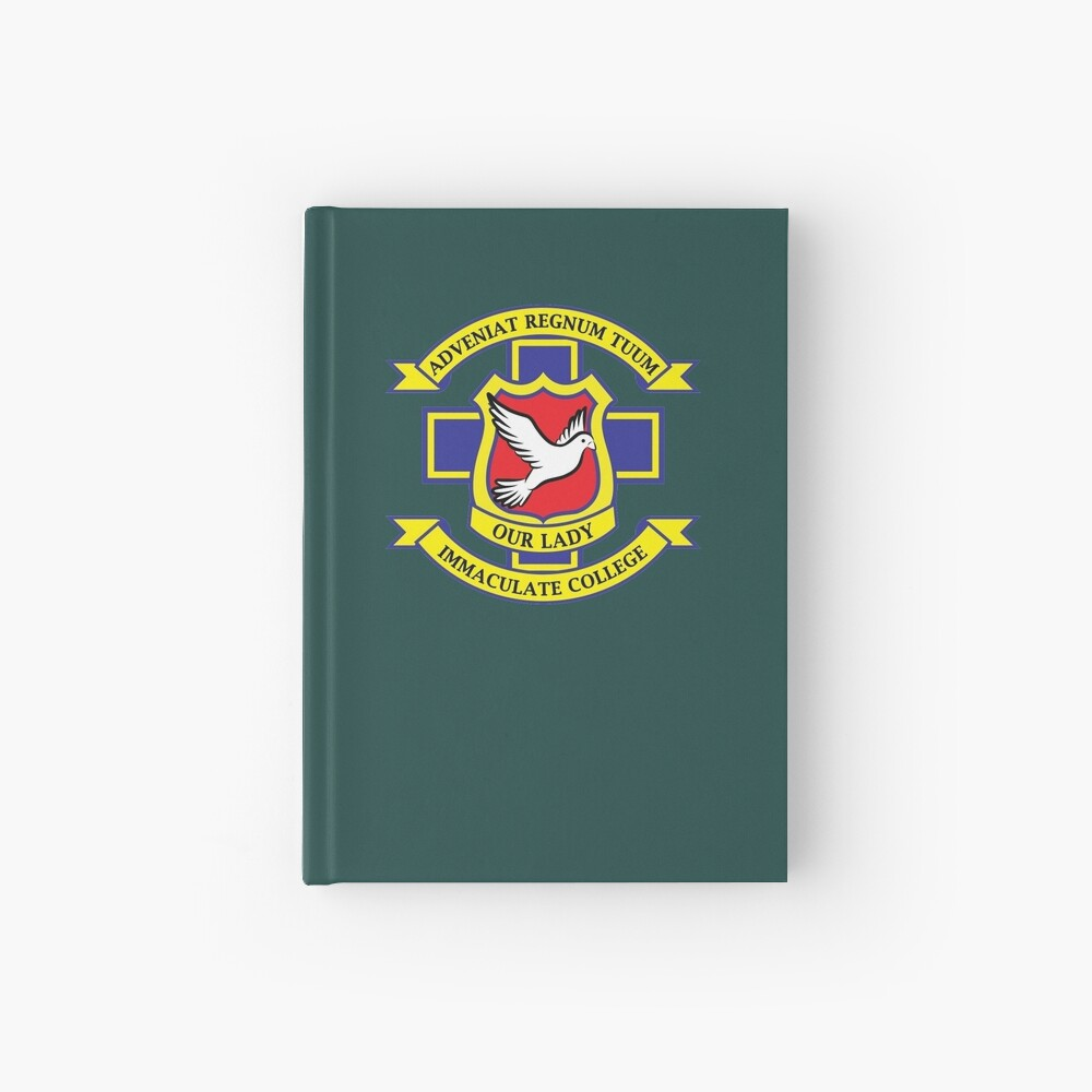 Derry Girls School Crest Hardcover Journal