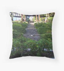 Berkeley Rose Gardens Throw Pillow