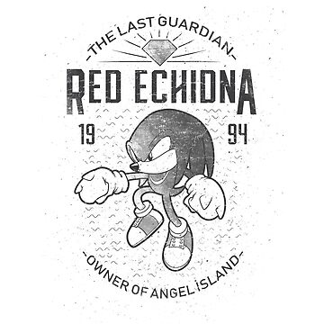 Red echidna by trheewood