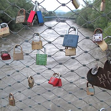 Locks above River by ephotocard