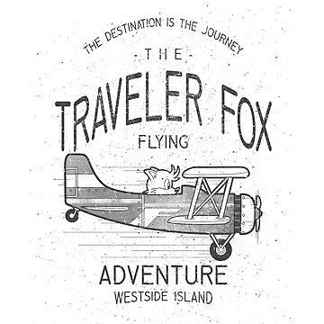 The traveler fox by trheewood