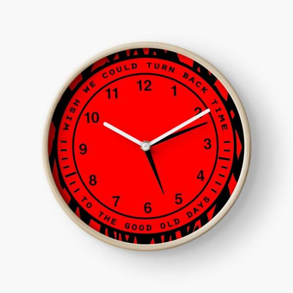 Remonter le temps Horloge