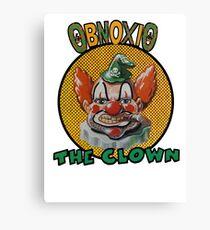 Obnoxio the Clown Canvas Print