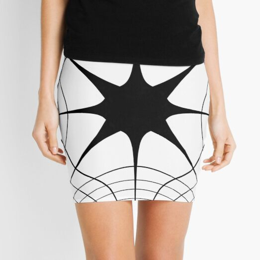 Pattern, design, tracery, weave, decoration, motif, marking, ornament, ornamentation, #pattern, #design, #tracery, #weave, #decoration, #motif, #marking, #ornament, #ornamentation Mini Skirt