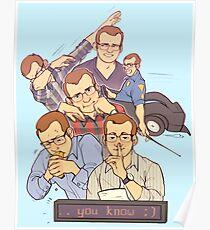 Póster griffin mcelroy: cryptid humano (edición de póster)