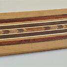 Chevron Stripe Cutting Board by Robert's Woodworking Studio