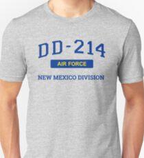 Air Force Veteran Shirt DD214 New Mexico T-Shirt Unisex T-Shirt