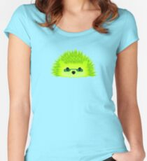 Vedgy, Broccoli Blades Women's Fitted Scoop T-Shirt