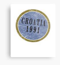 Vintage Croatia Independence day Metal Print