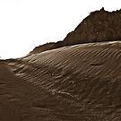 Black sand dunes by yurix