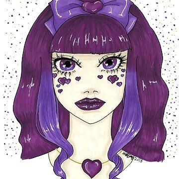 purple heart by Hardsara