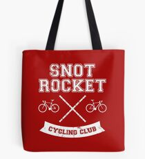 Snot Rocket Cycling Club Tote Bag