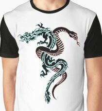 dragon and snake Graphic T-Shirt