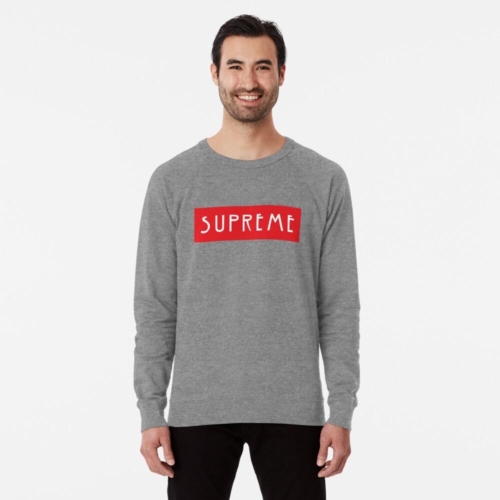 """AHS """"SUPREME"""" Lightweight Sweatshirt"""