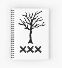 XXXTENTACION Tribute  Spiral Notebook