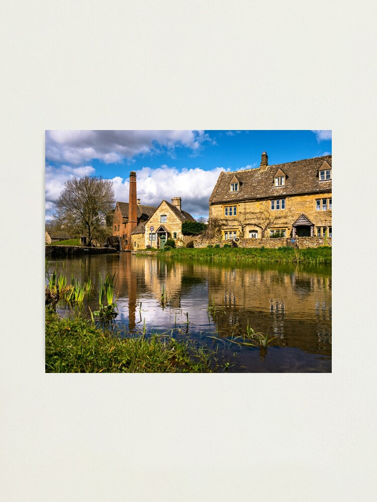 Alternate view of The Old Mill  Photographic Print