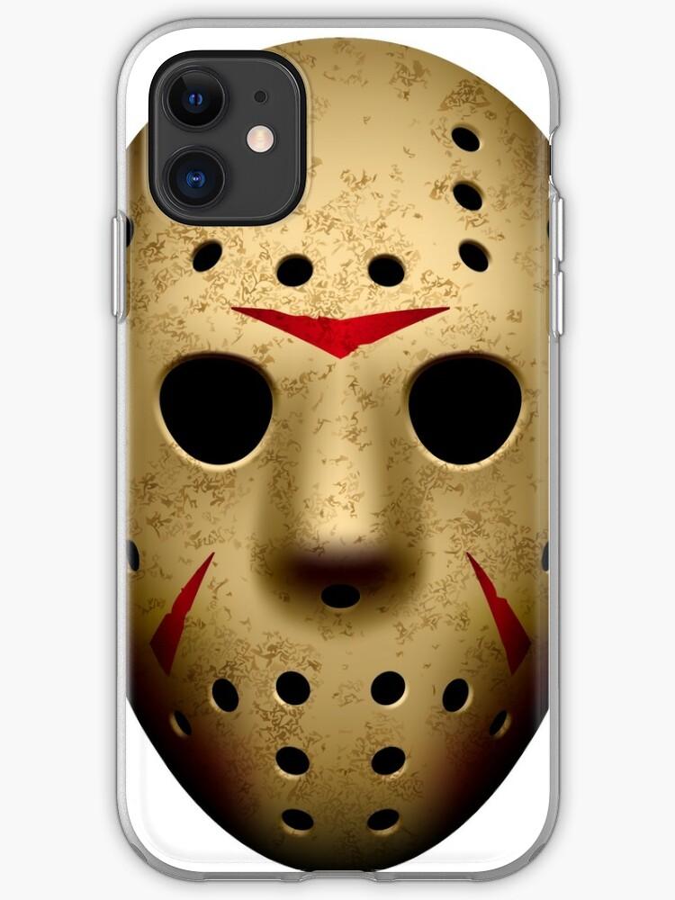 Jason Friday 13th Horror Film iphone case