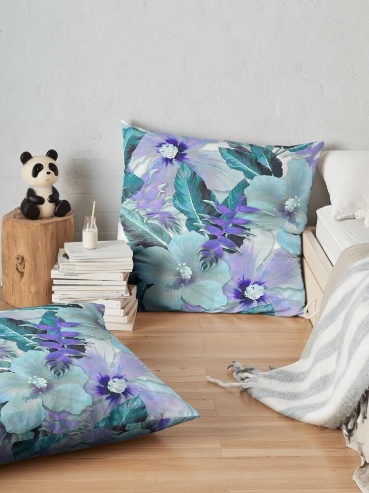 Alternate view of Lavender Ginger Alohas Floor Pillow