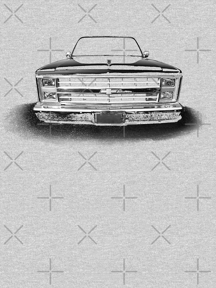 Chevy Silverado Square body pickup 1 - black by mal-photography