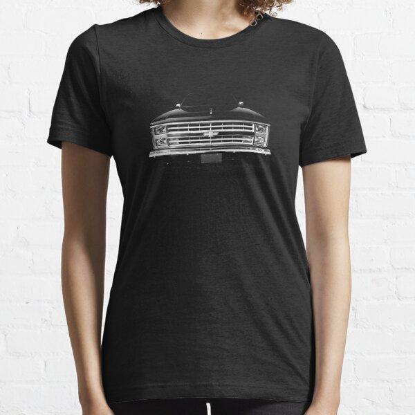 Chevy Silverado Square body pickup 1 - black Essential T-Shirt