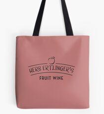 Herb Ertlingers Fruchtwein - schwarz Tote Bag