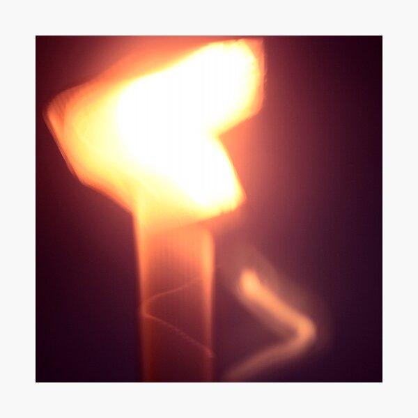 light Photographic Print