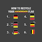 World Cup - How to recycle German flag by DigitalCleo