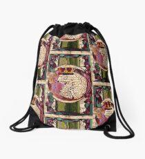 Wild world Drawstring Bag