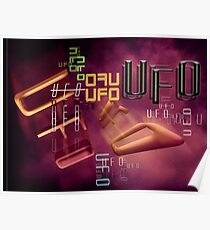 unidentified flying type Poster