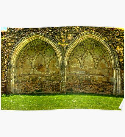 Kirkham Abbey Ruins #1 Poster