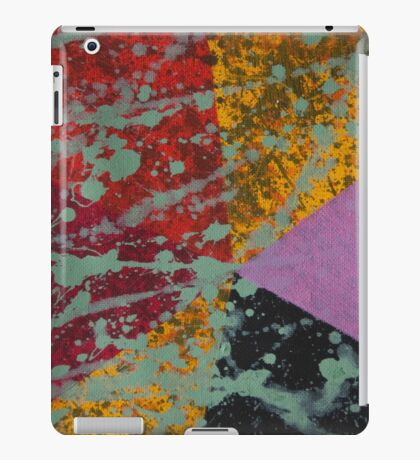 Corner Splatter # 9 iPad Case/Skin