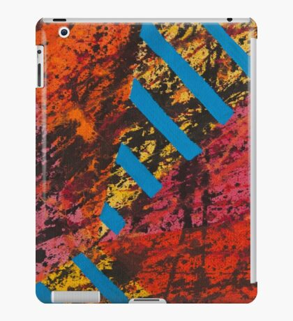 Corner Splatter # 8 iPad Case/Skin