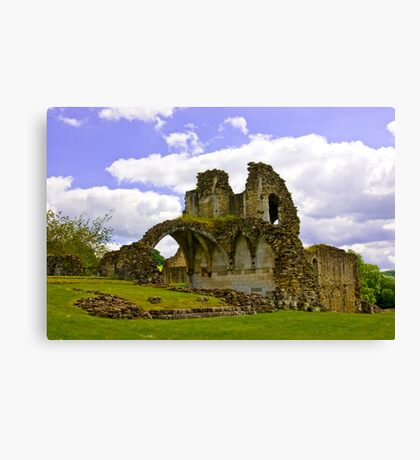 Kirkham Abbey Ruins #3 Canvas Print
