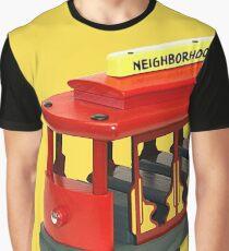 Nachbarschaftswagen Grafik T-Shirt