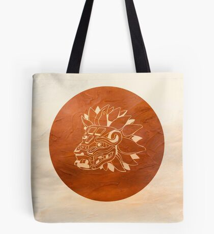 Fly the Friendly Aztec Skies  Tote Bag