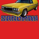 HZ Holden Sandman Panel Van - Yellow by tshirtgarage